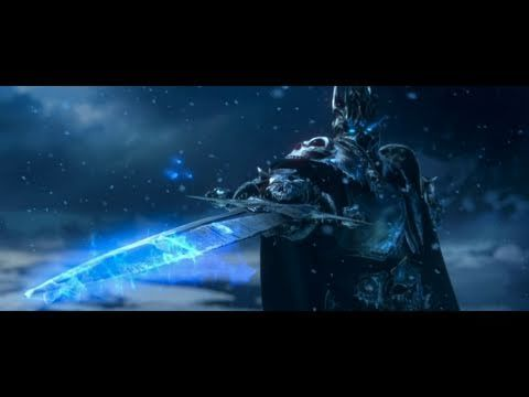 The Wrath Of The Lich King Cinematic Trailer. Definitely a must watch even if you don't play WoW!