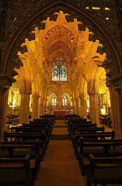 Rosslyn Chapel, properly named the Collegiate Chapel of St Matthew, was founded on a small hill above Roslin Glen as a Catholic collegiate c...