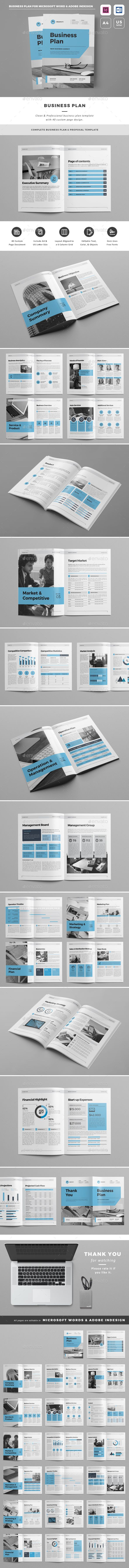 #Business Plan - #Proposals & #Invoices Stationery Download here: https://graphicriver.net/item/business-plan/19164135?ref=alena994