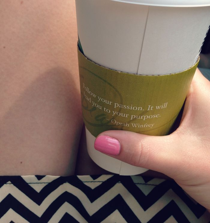 Oprah Winfrey Starbucks Quote