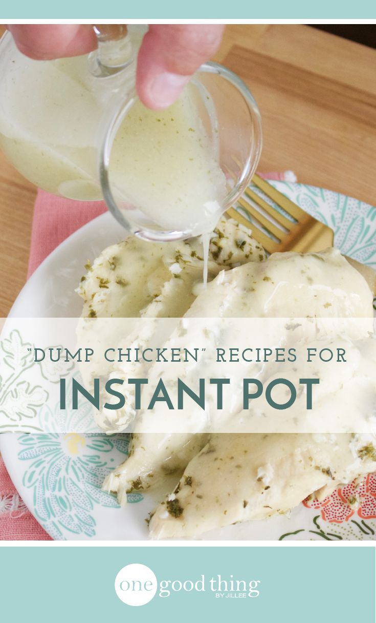 I love making dump chicken in my crockpot, but it's even faster and easier in the Instant Pot! Here are 3 delicious Instant Pot dump chicken recipes.