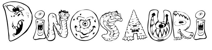 Dinosauri e mostri, colorali tu! #paroledacolorare #colorare #bambini #stampaecolora #disegnidacolorare #mondofantastico Mondo Fantastico #dinosauri #mostri #mostridacolorare #dinosauridacolorare http://www.mondofantastico.com/index.php/parole-da-colorare-i-dinosauri/