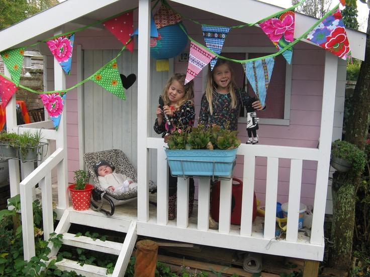 Play house in my garden