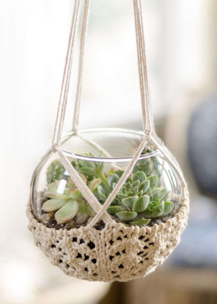 Knitting patterns for home decor