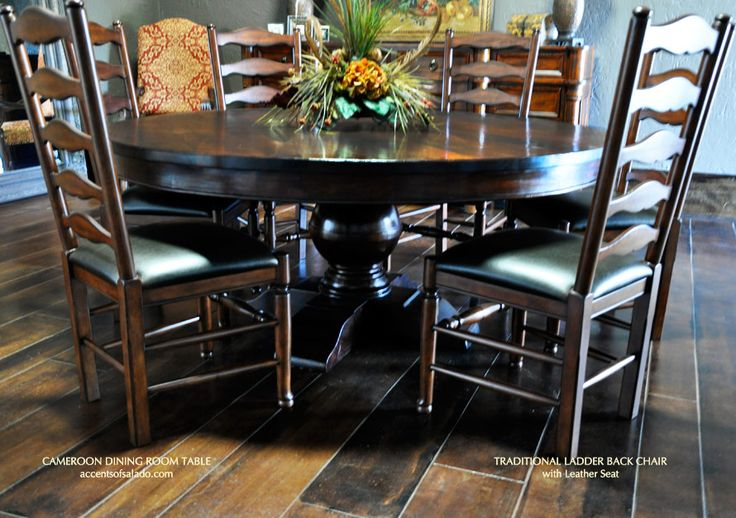 17 Images About Tuscan Decor Dining Room On Pinterest Solid Wood Dining Ta