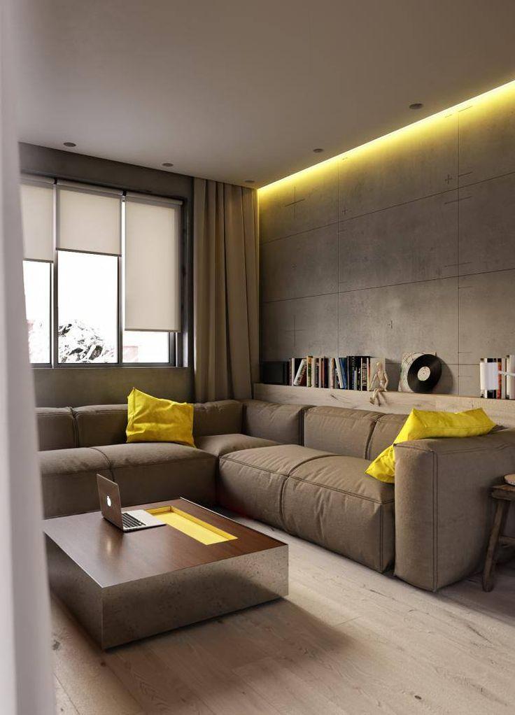 Уютная украинская квартира была спроектирована дизайнерами студии Artpartner