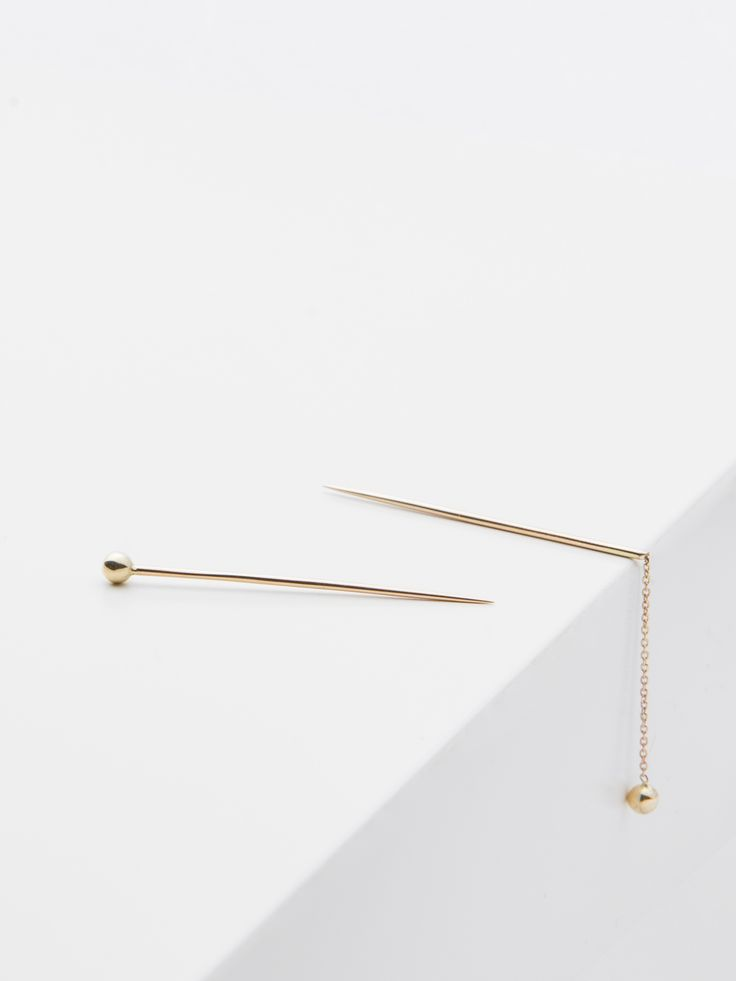 brooch - marie - and brooch - jolie - Anna Lawska Jewellery - collection closeness -