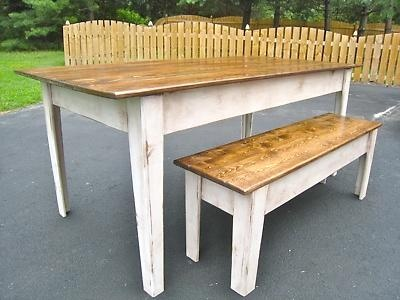 Farmhouse Kitchen Table best 25+ kitchen table with bench ideas only on pinterest | dining