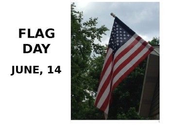 Flag Day is an opportunity for students to explore the importance of the United States flag. This patriotic lesson will teach about the etiquette and importance of our flag. The lesson contains PowerPoint slides for review, flash cards to print, reader's theater, Pledge of Allegiance activity, poetry, craft, word search and a quiz with answer