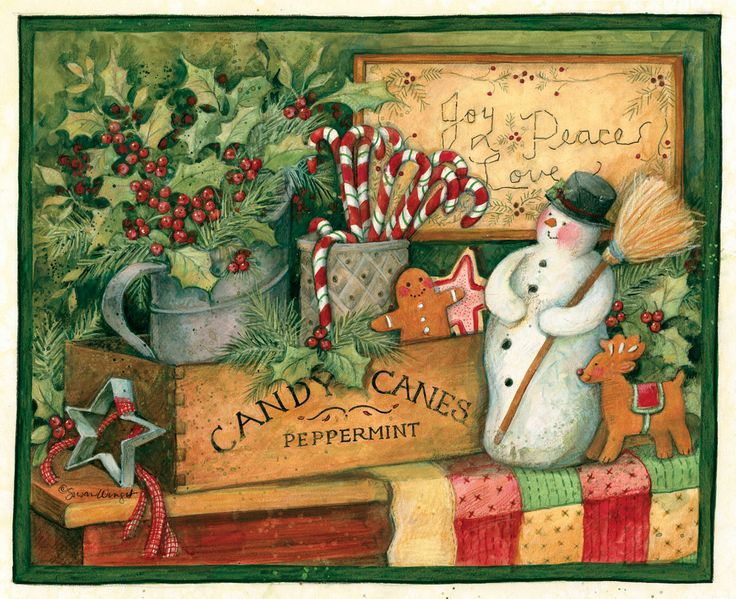 Christmas decoration by Susan Winget
