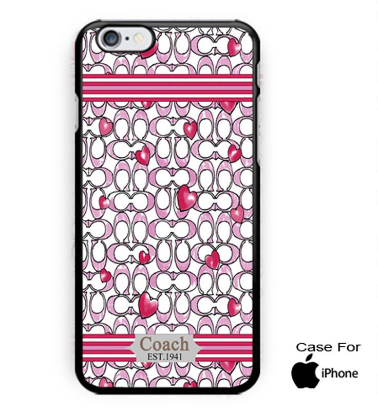 #Hot #New #COACH #Fashion #Case #Love #Pink #On #HardCase #For #iPhonecase #case #cover #accessories #cellphone #iPhone4s #iphone5s #iphone6s #iphone7 #iphone7s #iphone6splus #present #giftidea #favorite #custom #design #lowprice #newhot #best