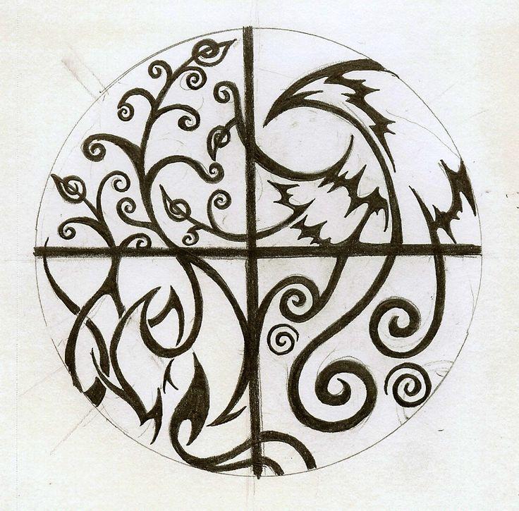 Elemental Tattoo Again by Cloudberg.deviantart.com on @deviantART