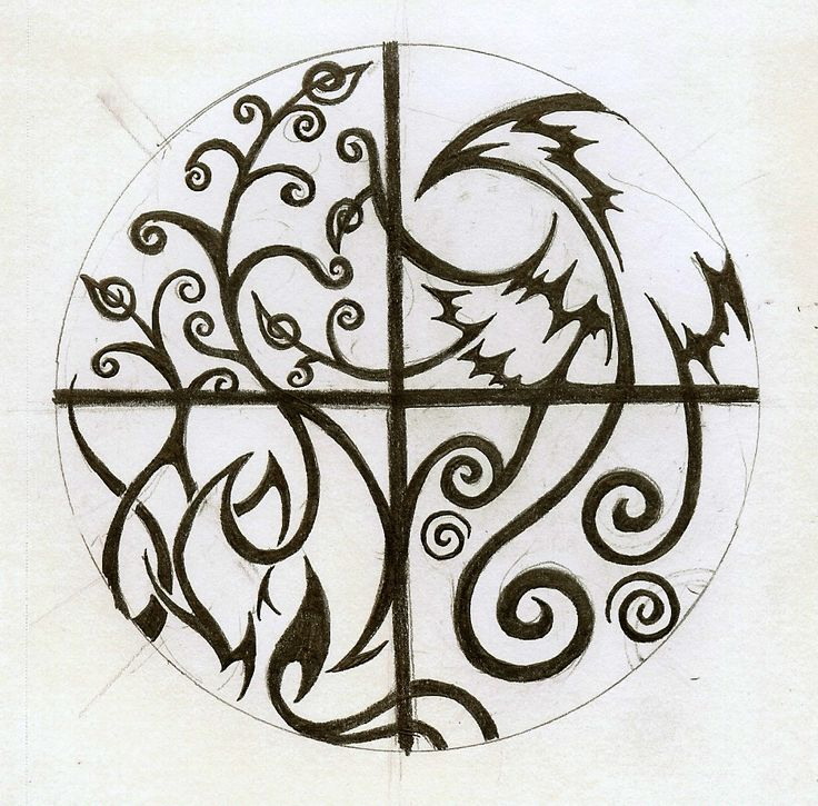 Elemental Tattoo Again by Cloudberg.deviantart.com on @deviantART