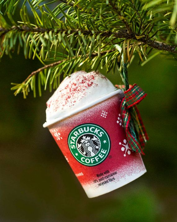 Starbucks Christmas Ornament @Landge @Laramie Holifield @Samantha Durham
