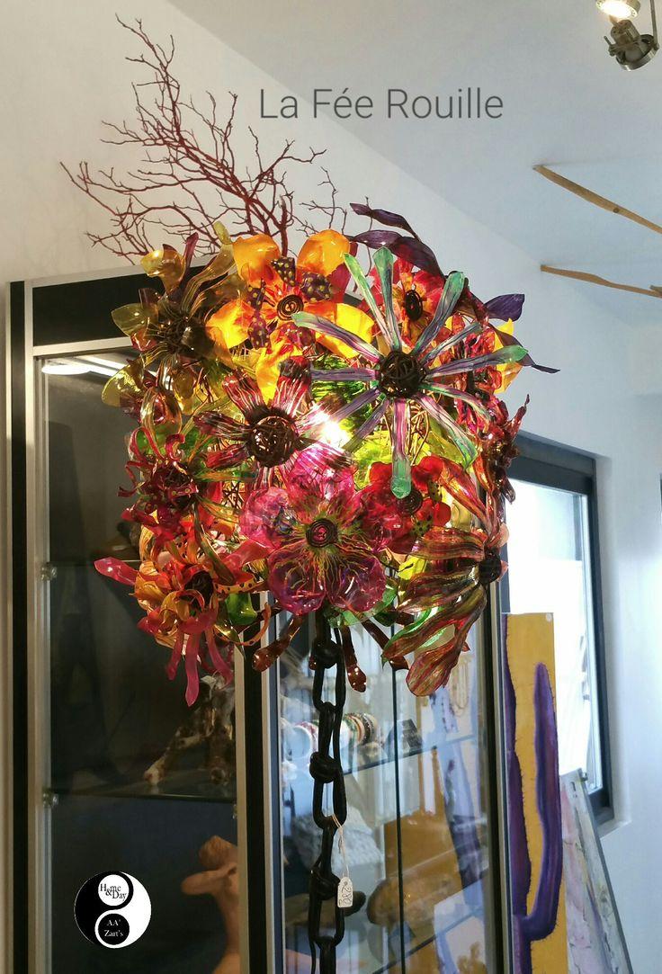 Création La Fée Rouille • Pièce unique entièrement réalisée à la main 😍 #gallery #décoration #artisanat