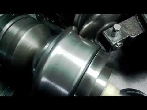 Metal spinning aluminium 1mm wyoblanie www.rosik.pl - YouTube