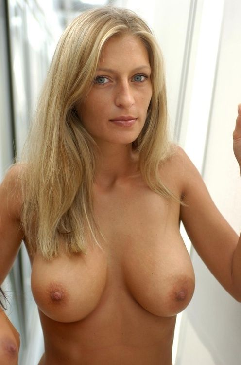 Nice Blonde Tits Mature 102