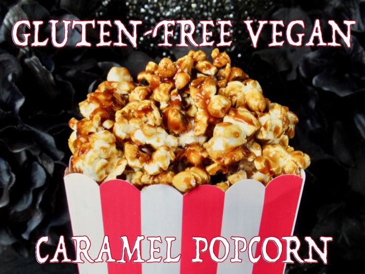 Caramel corn is a lot easier to make than you might think. The sauce only needs 4 ingredients and it's naturally gluten-free. This vegan recipe has soy-free and low-FODMAP options.
