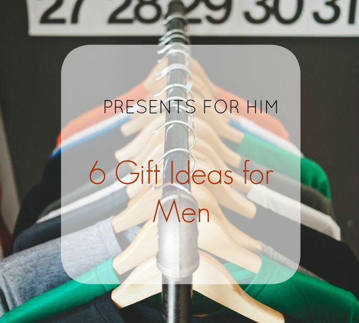 PRESENTS FOR HIM – 6 GIFT IDEAS FOR MEN | PRESENTES PARA ELE