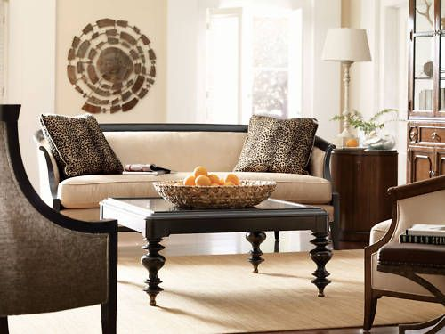 Curves Contemporary Wood Trim Fabric Sofa Couch Chair Set