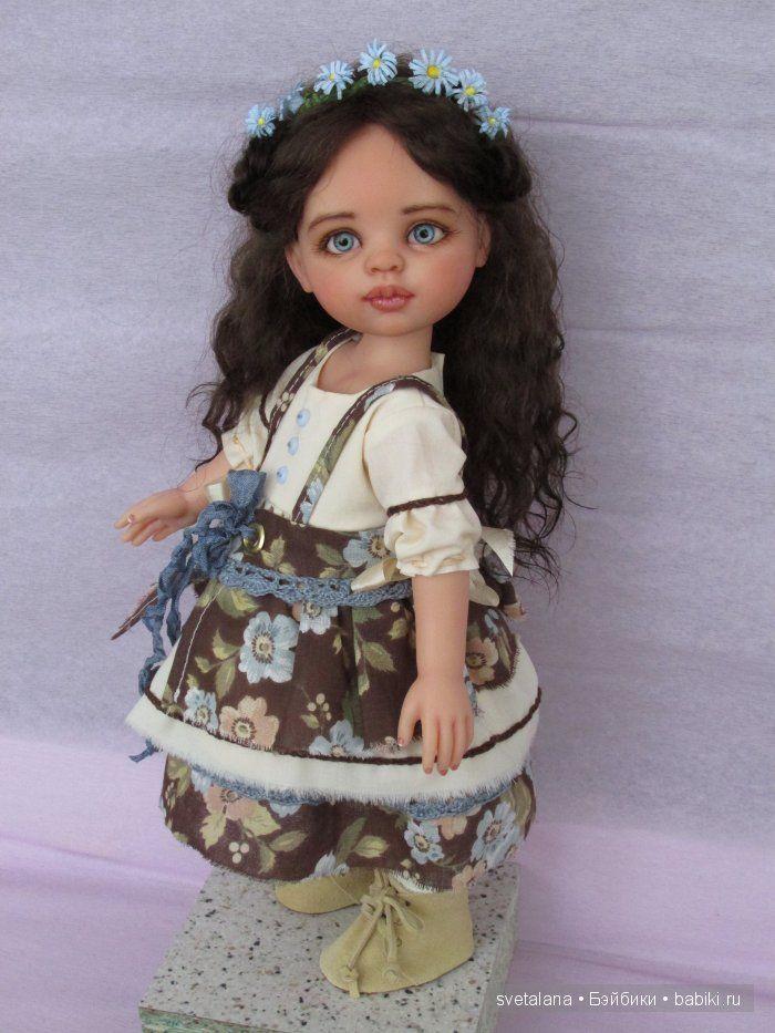 Наташа. Девочка Незабудка. ООАК куклы Paola Reina / Paola Reina, Antonio Juan и другие испанские куклы / Бэйбики. Куклы фото. Одежда для кукол