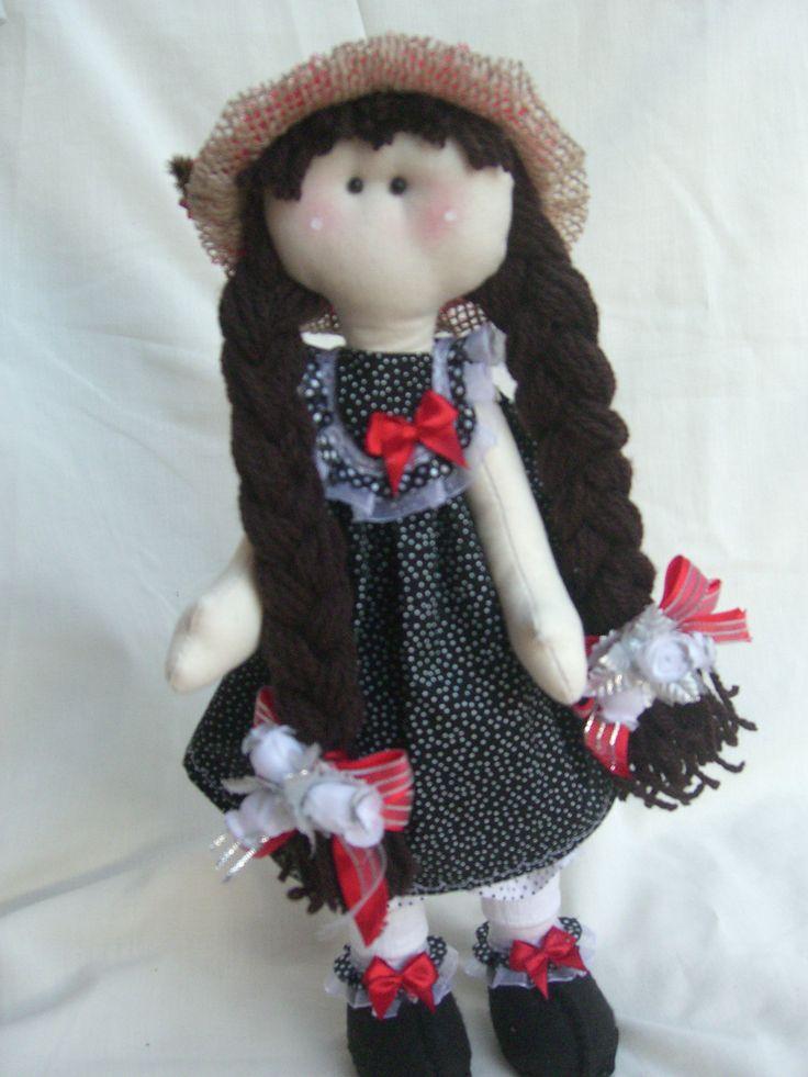 Boneca Russa ,confeccionada em tecido 100% algodão