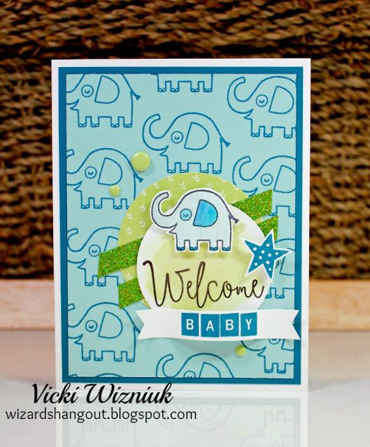 Baby Boy Card (Wizard's Hangout)