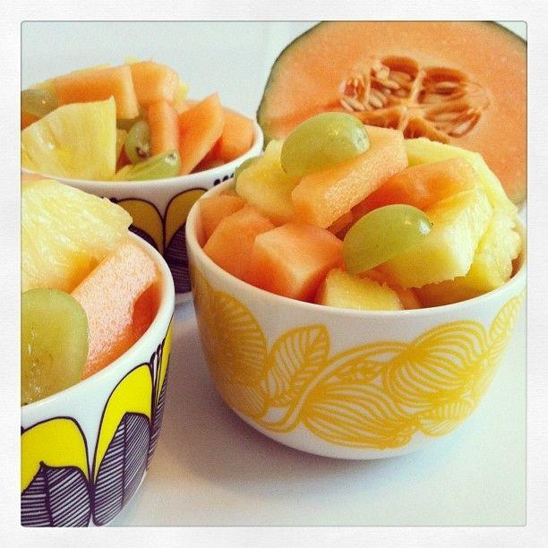 Niin hyvää ettei sanotuksi saa, hedelmäaurinko!