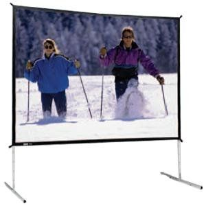 "Deluxe Complete Fast-Fold Portable Front Projection Screen - 10'6 x 14' - 211"" Diagonal - Video Format - 4:3 Aspect - DA-Mat by Da-Lite. $1127.97. 88621 Features: -Available with Da‑Mat , Da‑Tex (Rear), High Contrast Da‑Tex (Rear), Cinema Vision, Pearlescent, Dual Vision and Ultra Wide Angle (Rear), all Fast-Fold Deluxe surfaces are interchangeable with Standard Fast‑Fold surfaces for easy substitution.-Fast-Fold Deluxe with Da-Mat fabric is standard wi..."