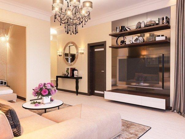 Квартира площадью 45 кв м - Дизайн интерьеров | Идеи вашего дома | Lodgers