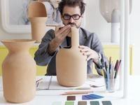 Gardenias vases by Jaime Hayon for bd Barcelona.     #barcelona #terracotta #design #vase #urn #spain #interiordecoration #hayon #interiordesign #furniture #accessory #yes