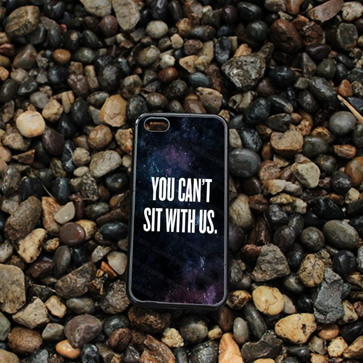 iPhone case You Can't Sit With Us Nebula For iPhone 4, iPhone 5, iPhone 5c, iPhone 6, iPhone 6 Plus in Plastic, Rubber or Heavy Duty* by CasematicUS on Etsy