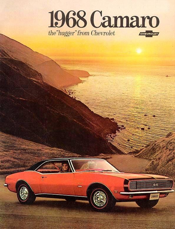 1968 Camaro Classic Cars Old School Pinterest Dream