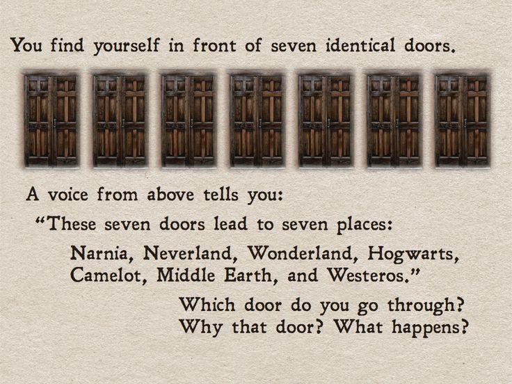Torn between Narnia and Hogwarts...