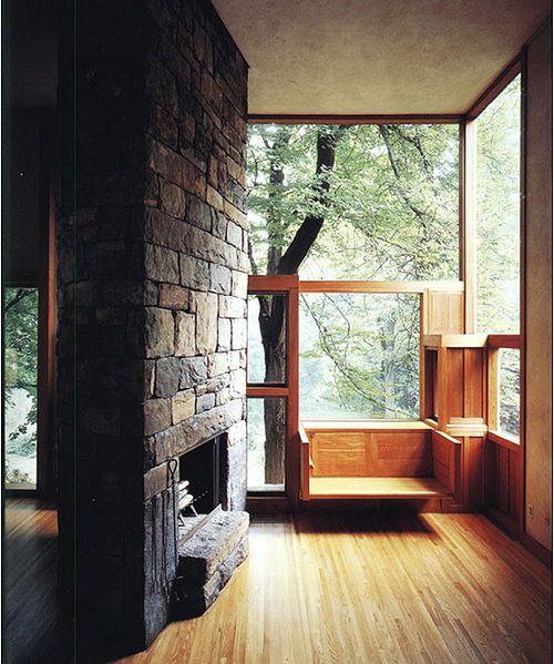 Norman Fisher House, Hatboro PA | Louis Kahn | Source: wikiarquitectura.com