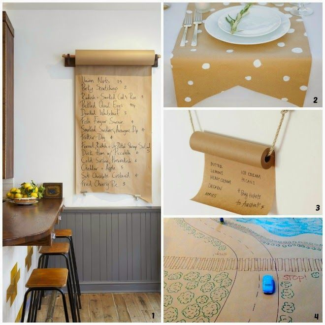 If you know me, you're no doubt aware that I have a slight obsession with kraft paper.  I love its versatility - it can as easily dress up ...