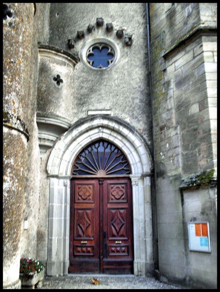 Soual Eglise Sainte Sigoléne - Portale