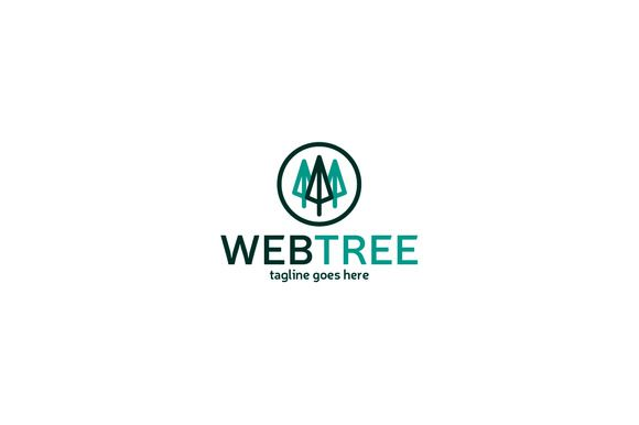 Web Tree Logo Template by Shaoleen on @creativemarket