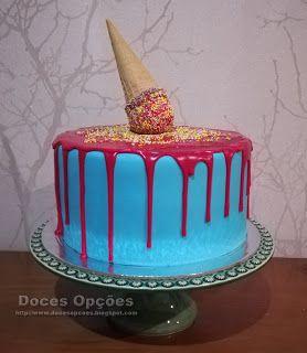Doces Opções: Bolo de aniversário