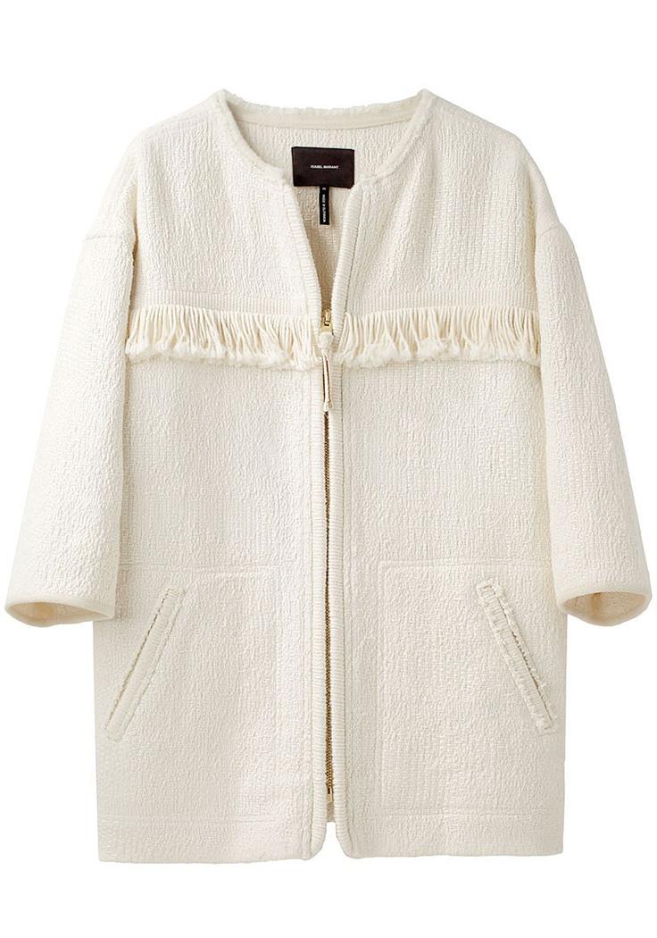 $1350  (Isabel Marant / Leoni Zip-Up Knit Coat)