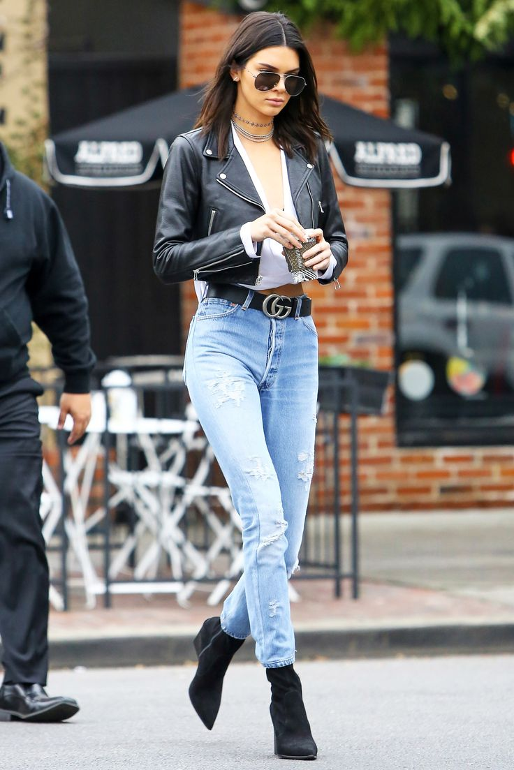 Kendall Jenner has always had the best downtown-cool, sporty style. Her latest outfit is the epitome of that and a formula she loves. See and shop it here.