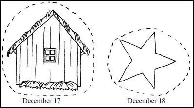 Printable Nativity Advent Chain