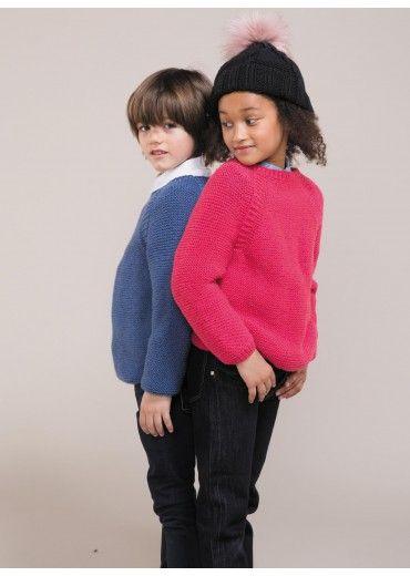 Mag. 04 - n° 08A Pull Fille Modèles, broderie & tricot Achat en ligne