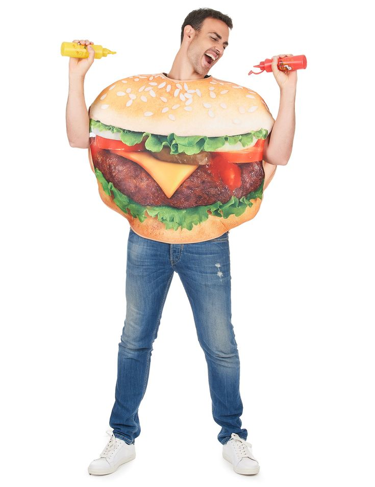 Burger Kostüm für Erwachsene