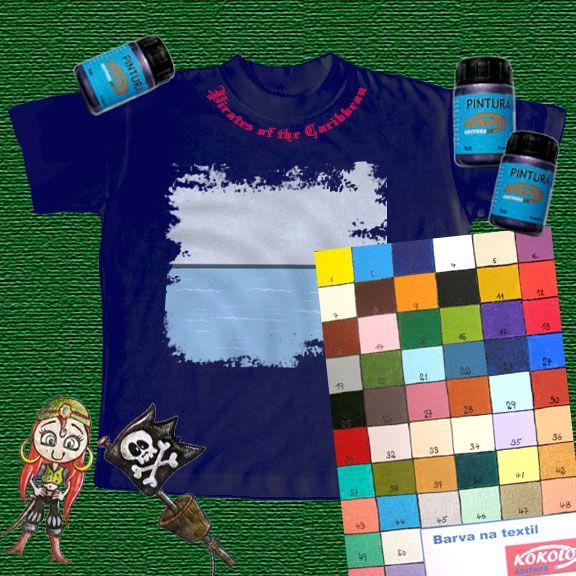 Barvy na textil > Krycí barvy > Kokolo > Výtvarné potřeby - Market Art