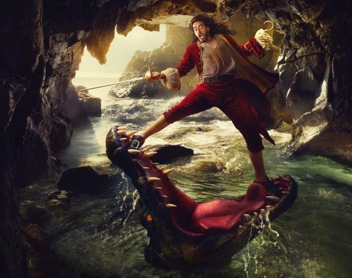 Annie Leibovitz's Celebrity Disney Dream Portraits - My Modern Metropolis - Russell Brand as Captain Hook