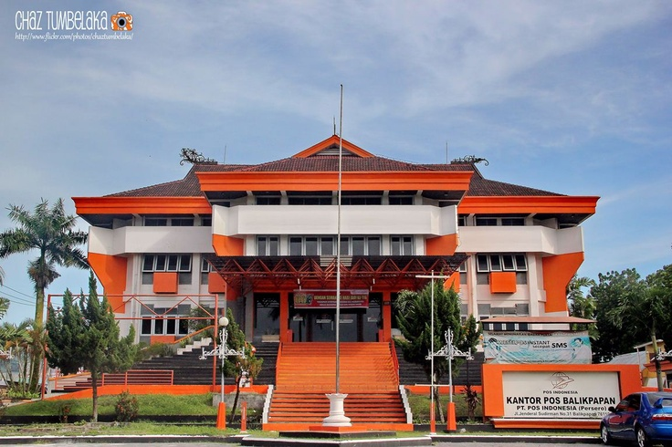 Post Office Balikpapan - Heritage Building