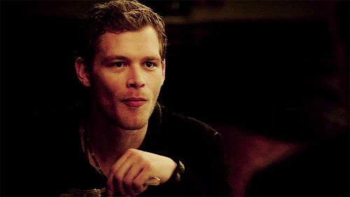 The depth of my love for Joseph Morgan is directly proportional to the exact amount of wicked amusement in his smirk. | 15 Perfect Smiles You Can't Help But Fall In Love With