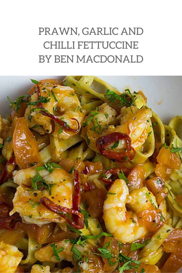 A must try recipe! Ben MacDonald, Masterchef star and Angelo's Pasta feature foodie, created this Prawn, Garlic and Chilli Fettuccine recipe using Angelo's fettuccine. Easy to make and full of flavour, this dish will definitely impress your family and friends without breaking the bank.