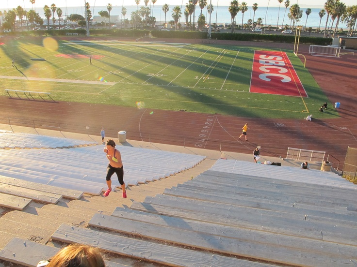 Santa Barbara City College Hear the waves as you run.